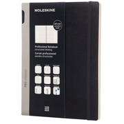 Moleskine Professional Notebook 9.75 x 7.5 Soft Cover Black (891409)