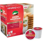 Green Mountain Cinnamon Sugar Cookie, Keurig K-Cup Pods, 18 Count