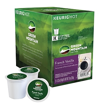 Keurig® K-Cup® Green Mountain® French Vanilla Coffee, Regular, 24 Pack