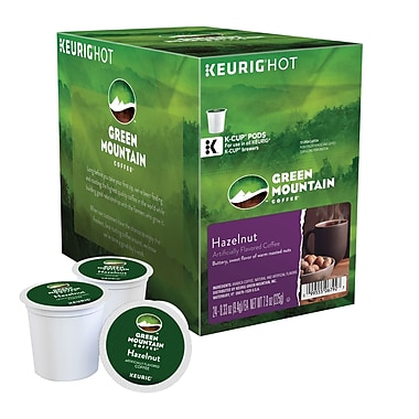 Keurig® K-Cup® Green Mountain® Hazelnut Coffee, Regular, 24 Pack