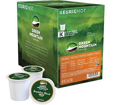 Keurig K-Cup Green Mountain Decaf Coffee Variety, Decaffeinated , 22/Pack 737185
