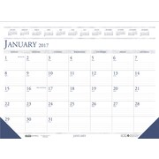 2017 House of Doolittle 18.5 X 13 Desk Pad Calendar Economy (1506)