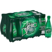 Perrier Sparkling Natural Mineral Water, Green Apple 16.9-Ounce Plastic Bottles, 24/Pack (12266518)