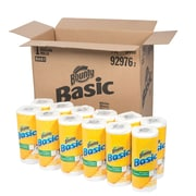 Bounty Basic 1-Ply Paper Towels, 30 Rolls/Case