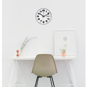 """Infinity Instruments 11.125""""  Wall Clock, Day/Date"""