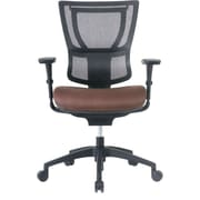 Staples Professional Series 1500TF Mesh Back Chair, Bark