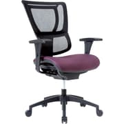 Staples Professional Series 1500TF Mesh Back Chair, Eggplant