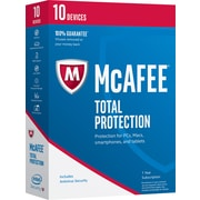 McAfee Total Protection 2017 - 10 Devices [Boxed]