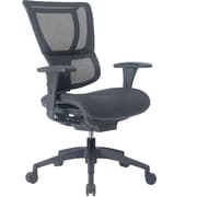 Staples Professional Series 1500TF Mesh Back Chair, Ebony
