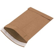 "Paper 10""H x 6""W Jiffy Self-Seal Padded Mailers, Natural Kraft, 250/Pack"