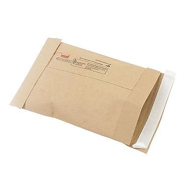 Staples #0 Padded Mailer, Gold Kraft, 5-7/8
