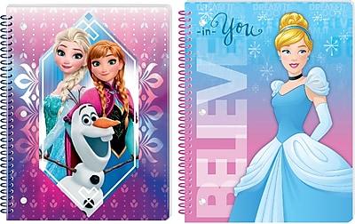 Innovative Designs LLC Assorted Girls Theme Notebook Frozen Princesses Each 9659 MX ST