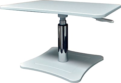 Get Victor Technology DC230W Height Adjustable Laptop Stand, White Before Special Offer Ends