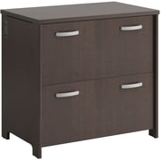"Bush Business Furniture Envoy 32""W 2 Drawer Lateral File in Mocha Cherry (PR76854)"