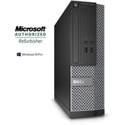 Refurbished Dell OptiPlex 3020 SFF Desktop Intel Core i3 3.4Ghz 8GB RAM 1TB Hard Drive Windows 10 Pro