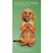 2017 Yoga Puppies 3.5 x 6.5 Pocket Planner(09781465056474)