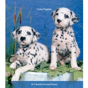 2017 I Love Puppies  3.5 x 6.5 Personal Planner(09781465082299)