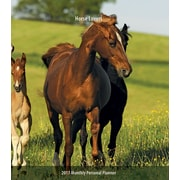 2017 Horse Lovers  3.5 x 6.5 Personal Planner(09781465053848)