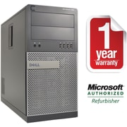 Refurbished Dell 990 Tower Core i7 3.4Ghz 8GB RAM 2TB HDD Windows 10 Pro