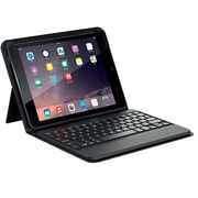 ZAGG Messenger Folio case with Keyboard-Apple iPad Air /Air 2- Black case Non-Backlit-Black KB