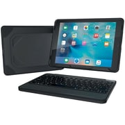 ZAGG Rugged Book and Keyboard-Apple iPad Pro 9.7-Black Case-Black KB