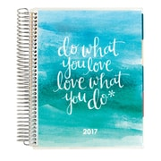 Erin Condren 12 Month Hourly LifePlanner™, Love What You Do-Blue (2423293)