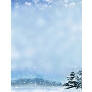 """Great Papers! Holiday Stationery 8.5"""" x 11"""" Beautiful Winter 80 count (2015100)"""