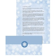 """Great Papers! Holiday Self-Mailer 8.5"""" x 11"""" Winter Flakes 50/50 count (2015104)"""