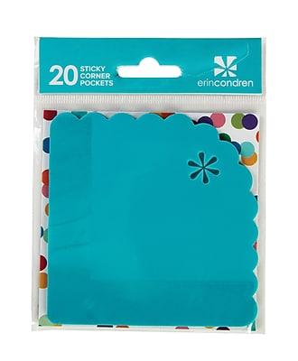 Erin Condren StylizedSticky corner pockets 20 Pack 2431714