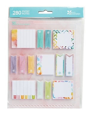 Erin Condren Snap in StylizedSticky Watercolor notes 2431717
