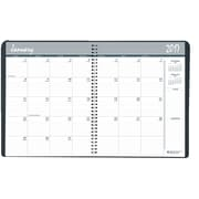 2017-2018 House of Doolittle 8.5 x 11 Two Year Monthly Planner Black/Blue (2620-02)