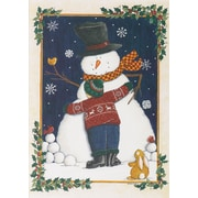 Great Papers! Snowman Love Greeting Card, 5.625 x 7.875,18 Cards/18 Envelopes