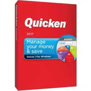 Quicken Deluxe 2017 for Windows (1 User) [Boxed]