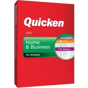 Quicken Home & Business 2017 for Windows (1 User) [Boxed]
