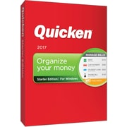 Quicken Starter Edition 2017 for Windows (1 User) [Boxed]