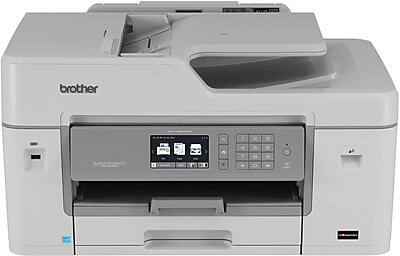 Brother MFC J6535DW Business Smart Pro Wireless Color Inkjet All In One Printer Uses INKvestment Cartridges