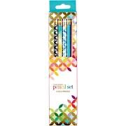 Erin Condren Designer Pencil Set, 6/Pack Lead Pencil (2431674)