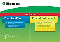 QuickBooks Desktop Pro with Enhanced Payroll 2017 (1 User) [Download]
