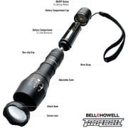 Bell+Howell Taclight - High-Powered Tactical Flashlight w/ 5 Modes & Zoom Function