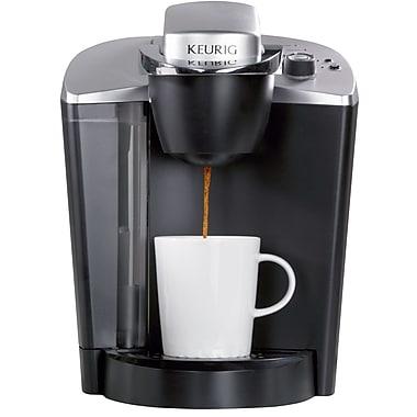 Keurig® OfficePRO® K145 Single-Cup Commercial Coffee Brewer, Black/Silver
