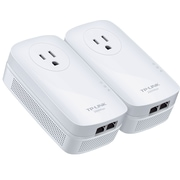 TP-LINK AV2000 2-port Passthrough Powerline Starter Kit(TL-PA9020P KIT)