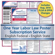 ComplyRight One Year State and Federal Poster Service, California -- English Federal and English State Posters