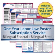 ComplyRight One Year State and Federal Poster Service, North Carolina -- Bilingual Federal and Bilingual State Posters