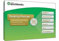 QuickBooks Desktop Premier 2017 (1 User)