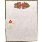 "Gartner Studios, Ribbon and Pinecones Stationery , 8.5"" x 11"", 80 Pack  (18688)"