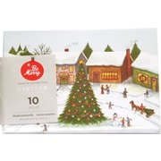 """Gartner Studios, Christmas Scene Notecard, 4"""" x 6"""", 10 Pack (18712)"""
