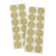 "Gartner Studios, Gold Glitter Seals, 24 Count, Gold,  7 x 2.625"", (18550)"