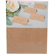 "Gartner Studios, Kraft Printable Placecards, 8-1/2 x 11"", 48 Count, (16704)"