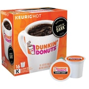 Dunkin' Donuts® Dark Roast Coffee 16 Count