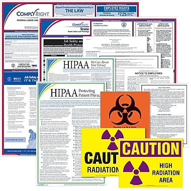 ComplyRight™ Federal & State Healthcare Poster Kit, CT